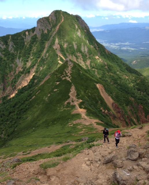 赤岳登頂しました